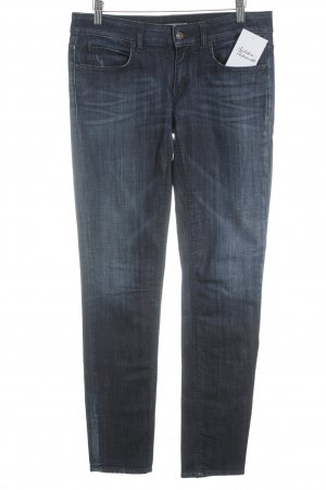 DRYKORN FOR BEAUTIFUL PEOPLE Slim Jeans dunkelblau Street-Fashion-Look