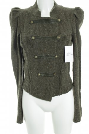 DRYKORN FOR BEAUTIFUL PEOPLE Strickjacke khaki meliert Casual-Look