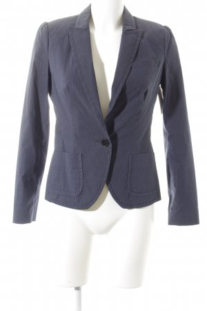 DRYKORN FOR BEAUTIFUL PEOPLE Unisex-Blazer dunkelblau-grau Nadelstreifen