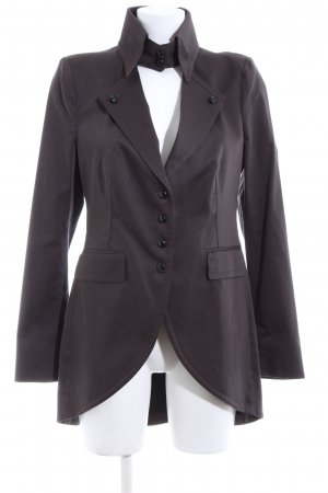 Drykorn Frock Coat black extravagant style