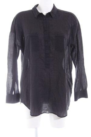 Drykorn Hemd-Bluse schwarz Casual-Look