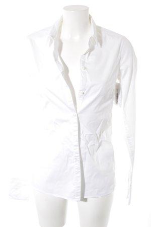 Drykorn Hemd-Bluse weiß Business-Look