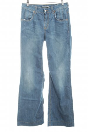 Drykorn Hoge taille jeans blauw casual uitstraling
