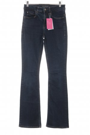 Drykorn High Waist Jeans dark blue casual look