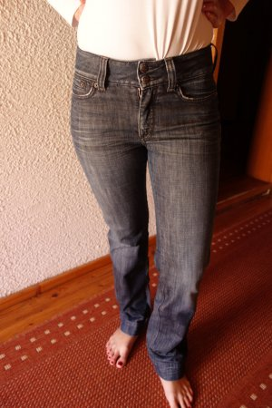 Drykorn High Waist Jeans - Jeansblau - Weite 28 Länge 32