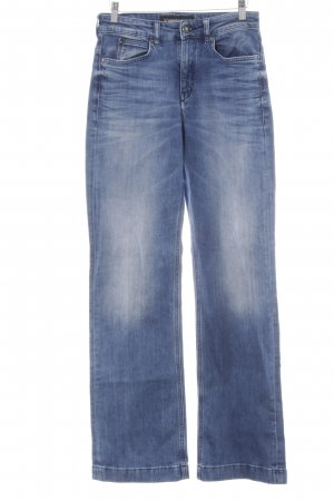Drykorn Hoge taille jeans staalblauw Jeans-look