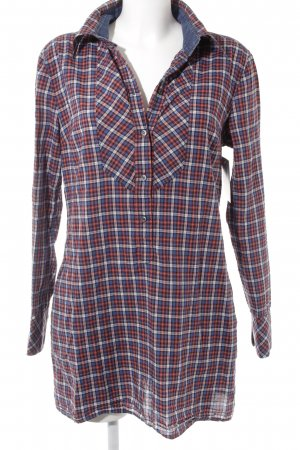 Drykorn Houthakkershemd geruite print casual uitstraling