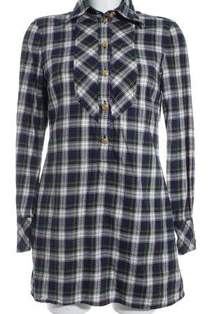 Drykorn Houthakkershemd geruite print straat-mode uitstraling