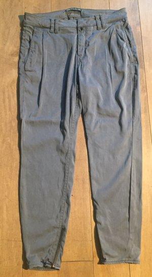 Drykorn Hose aus 7/8 aus Kunstseide Gr. 28/32