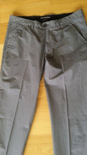 Drykorn Pantalon à pinces gris foncé