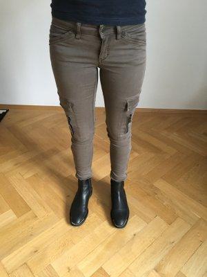 Drykorn Cargobroek taupe-grijs-bruin
