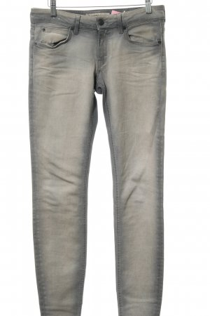 Drykorn Low-Rise Trousers silver-colored-rose-gold-coloured color gradient