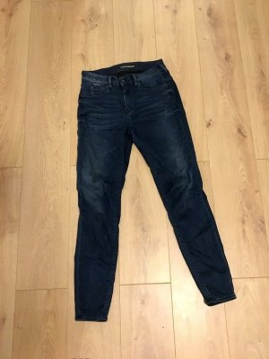 Drykorn Tube jeans donkerblauw