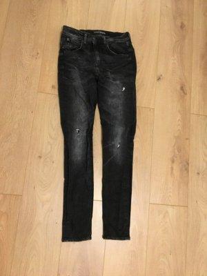 Drykorn Jeans Größe 30/34 Dunkelgrau/Schwarz