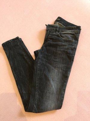 DRYKORN Jeans Größe 30/34 Schwarz/grau, wunderschöne Waschung
