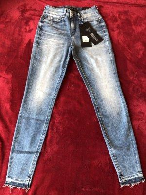Drykorn Stretch broek blauw