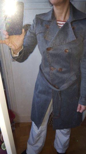 Drykorn Jeans Trenchcoat Mantel Gr36 T2 *wie neu*