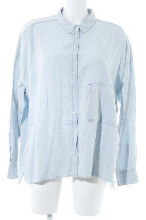 Drykorn Jeanshemd himmelblau Jeans-Optik