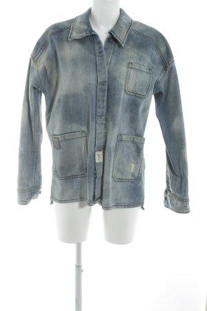 Drykorn Jeansjacke blassblau 80ies-Stil