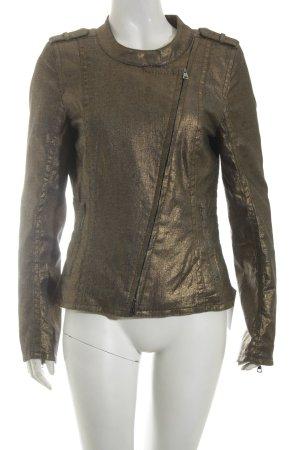 Drykorn Jeansjacke bronzefarben extravaganter Stil