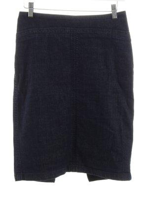 Drykorn Jeansrock dunkelblau klassischer Stil