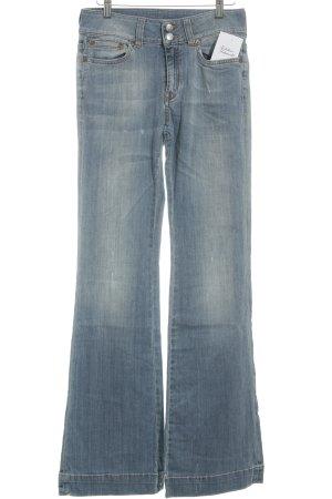 Drykorn Jeansschlaghose himmelblau Hippie-Look