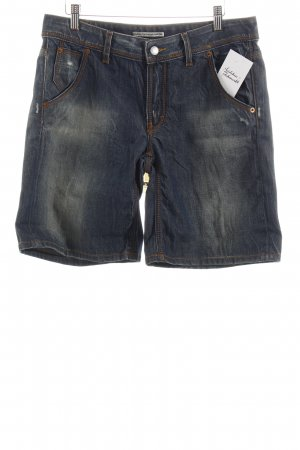Drykorn Jeansshorts blau Used-Optik