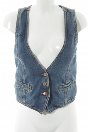 Drykorn Denim Vest blue country style