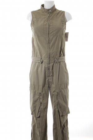 Drykorn Jumpsuit grüngrau Military-Look