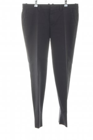 Drykorn Peg Top Trousers black casual look