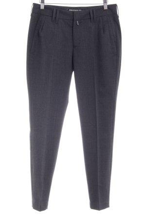 Drykorn Pantalone peg-top grigio puntinato stile casual