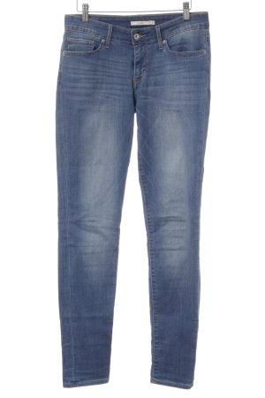 Drykorn Jeans carotte bleu azur style décontracté