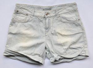 Drykorn Krempel Shorts blau gestreift Vintage Look Gr. 29 UNGETRAGEN