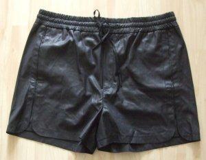 DRYKORN Kunstleder Shorts - schwarz - Gr. W29