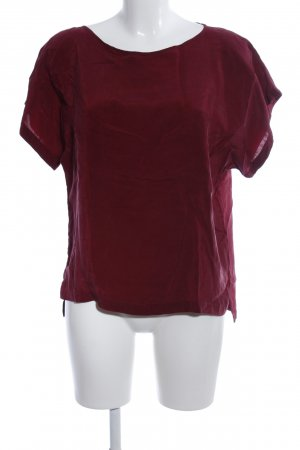 Drykorn Kurzarm-Bluse rot Casual-Look