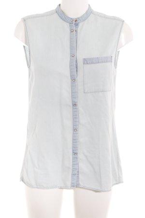 Drykorn Camicia a maniche corte azzurro stile casual