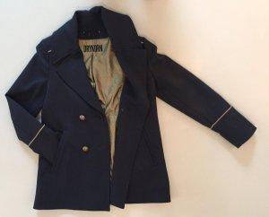 Drykorn Cappotto stile pilota blu scuro