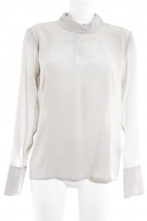Drykorn Langarm-Bluse beige klassischer Stil