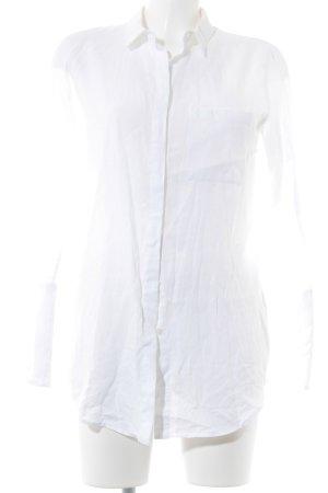 Drykorn Langarm-Bluse weiß Elegant