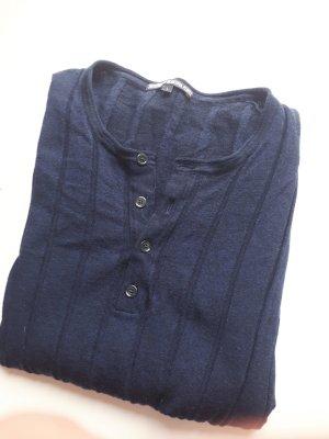 Drykorn Langarmshirt blau, in L