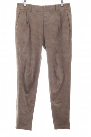 Drykorn Leather Trousers ocher casual look