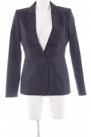 Drykorn Long-Blazer dunkelblau Business-Look