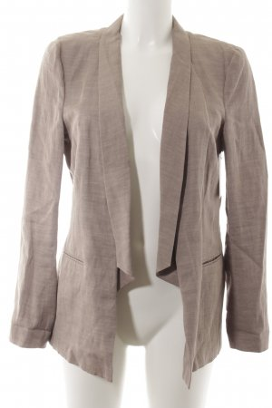 Drykorn Long-Blazer hellbraun meliert Business-Look