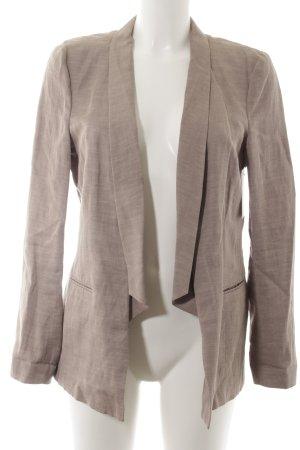 Drykorn Blazer lungo marrone chiaro puntinato stile professionale
