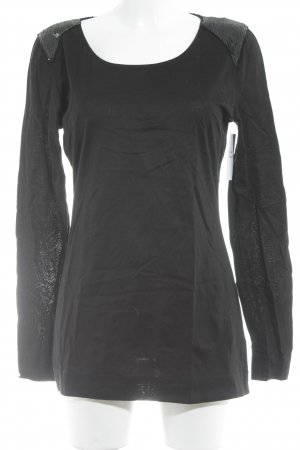 Drykorn Long Shirt black casual look