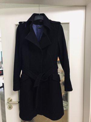 Drykorn Mantel Modell Queens Wolle Cashmere Gr. 36 Np 349€ Bindegürtel