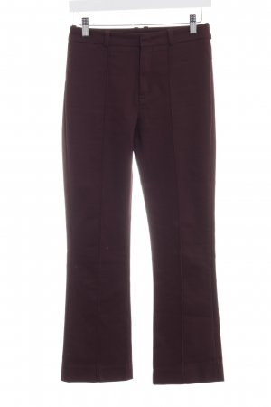 Drykorn Marlene Trousers bordeaux business style