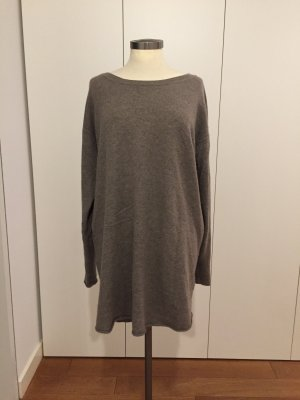 Drykorn Oversized Sweater light brown-grey brown