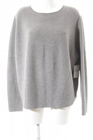 Drykorn Oversized Pullover grau Casual-Look