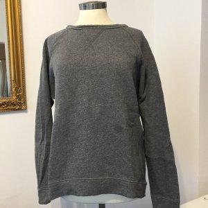 Drykorn Kraagloze sweater grijs